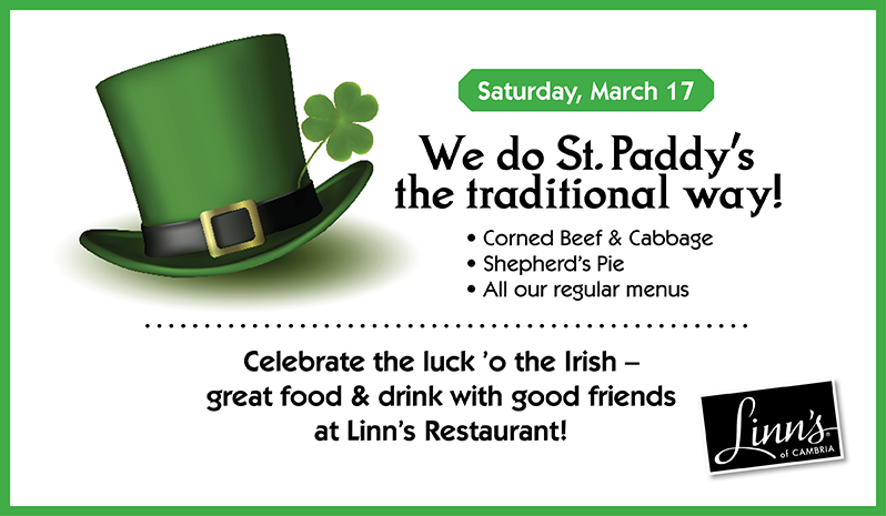 Linn´s - We do St.Paddy´s the traditional way!
