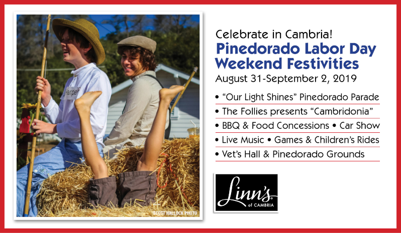 Celebrate with Linn´s this Labor Day - Pinedorado Weekend