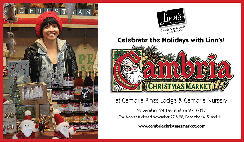 Celebrate the Holidays with Linn's!