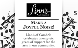 San Luis Obispo Master Chorale 2015 SLO Master Chorale Print Ad